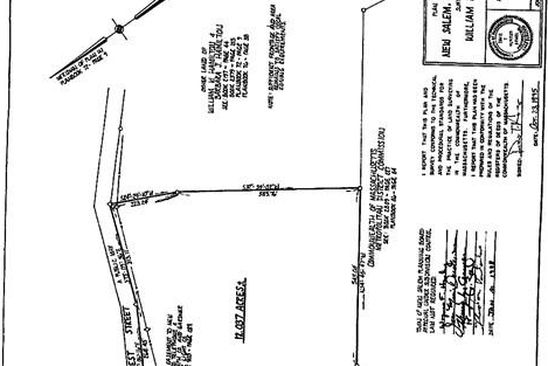 null bed null bath Vacant Land at 0 West St New Salem, MA, 01355 is for sale at 60k - google static map