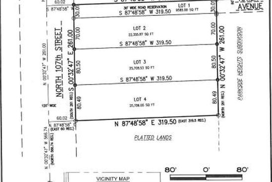 0 bed null bath Vacant Land at 8084 N 107th St Milwaukee, WI, 53224 is for sale at 35k - google static map