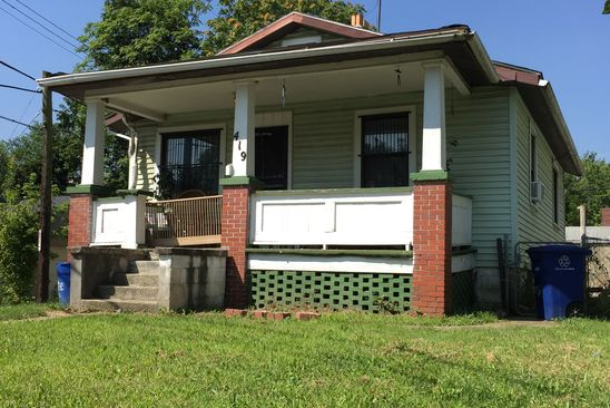2 bed 1 bath Single Family at 419 JOHNSON ST COLUMBUS, OH, 43203 is for sale at 35k - google static map