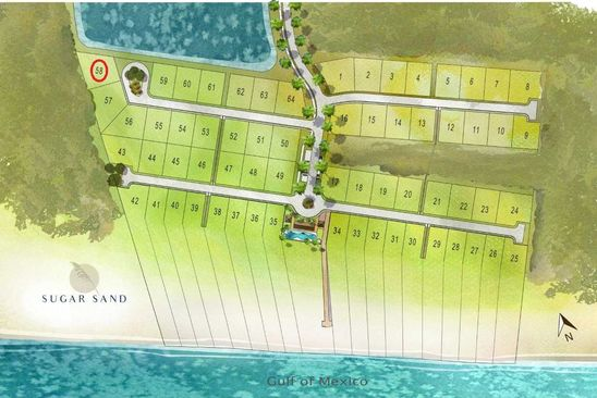 null bed null bath Vacant Land at 100 Sugar Sand W Mexico Beach, FL, 32410 is for sale at 320k - google static map