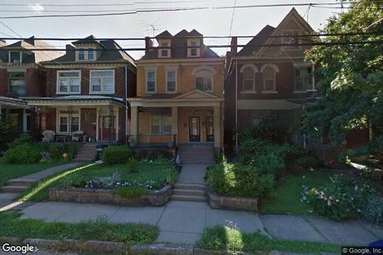 3 bed 3 bath Multi Family at 509 S TRENTON AVE PITTSBURGH, PA, 15221 is for sale at 135k - google static map