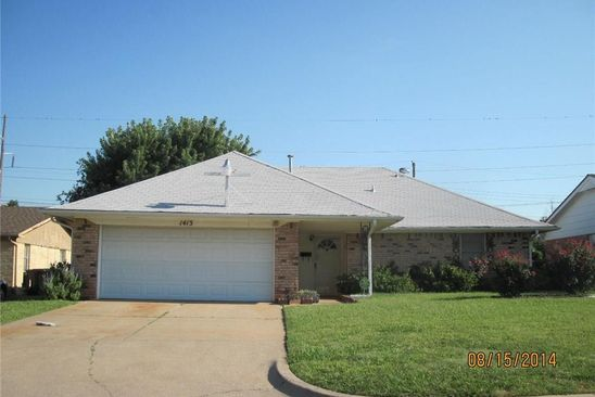 3 bed 2 bath Single Family at 1413 NW 107TH ST OKLAHOMA CITY, OK, 73114 is for sale at 95k - google static map
