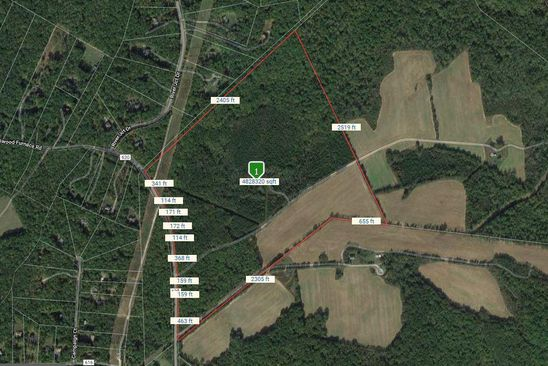 null bed null bath Vacant Land at 14201 Spotswood Furnace Rd Fredericksburg, VA, 22407 is for sale at 950k - google static map