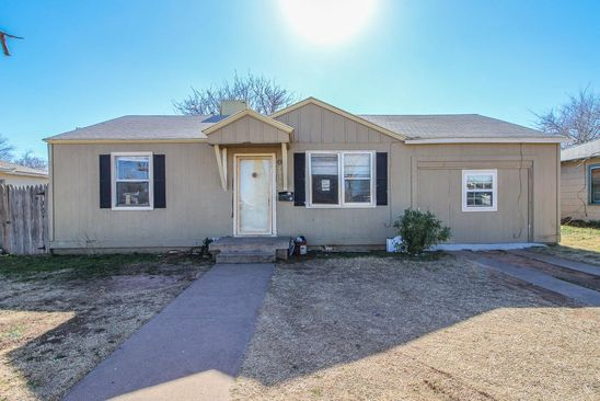4 bed 1 bath Single Family at 2033 63RD ST LUBBOCK, TX, 79412 is for sale at 59k - google static map