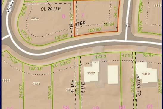 null bed null bath Vacant Land at  Lot 7 Block 4 Bearhill Park City, KS, 67219 is for sale at 30k - google static map
