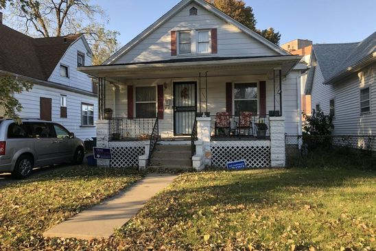 3 bed 1 bath Single Family at 1605 E MATHENY AVE SPRINGFIELD, IL, 62702 is for sale at 42k - google static map