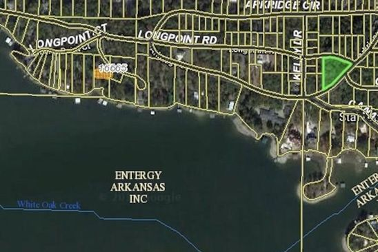 null bed null bath Vacant Land at  Blk 3 Lots 7-9 Arkridge Cir Hot Springs, AR, 71901 is for sale at 11k - google static map