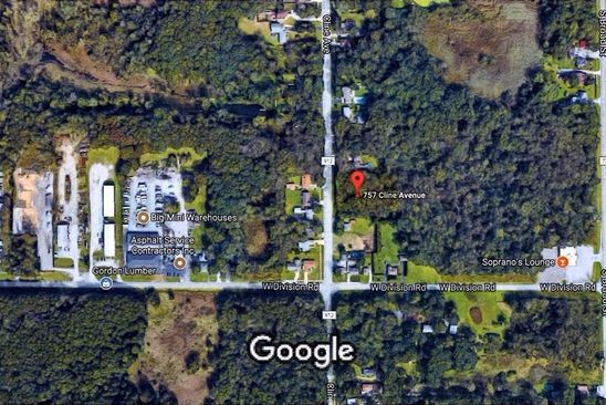 null bed null bath Vacant Land at 757 S Cline Ave Griffith, IN, 46319 is for sale at 32k - google static map