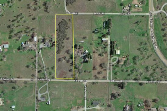 null bed null bath Vacant Land at 7823 S Burson Rd Valley Springs, CA, 95252 is for sale at 92k - google static map