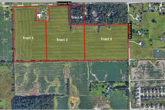 null bed null bath Vacant Land at  Garman Rd Tract Leo, IN, 46765 is for sale at 350k - google static map