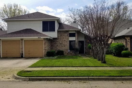 3 bed 3 bath Single Family at 2412 Sutton Dr Arlington, TX, 76018 is for sale at 187k - google static map