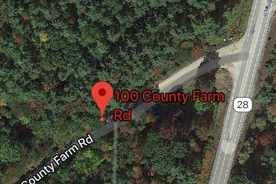 null bed null bath Vacant Land at 100 County Farm Rd Ossipee, NH, 03864 is for sale at 45k - google static map