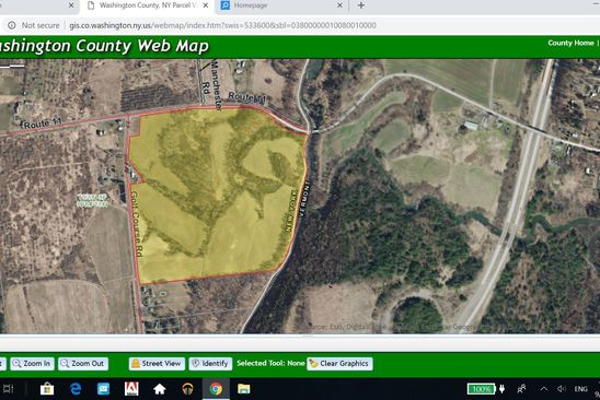 null bed null bath Vacant Land at 154 Golf Course Rd/County Rte Whitehall, NY, 12887 is for sale at 149k - google static map