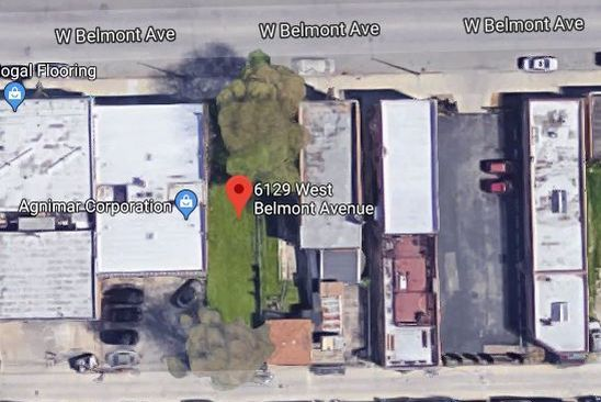 null bed null bath Vacant Land at 6129 W BELMONT AVE CHICAGO, IL, 60634 is for sale at 110k - google static map