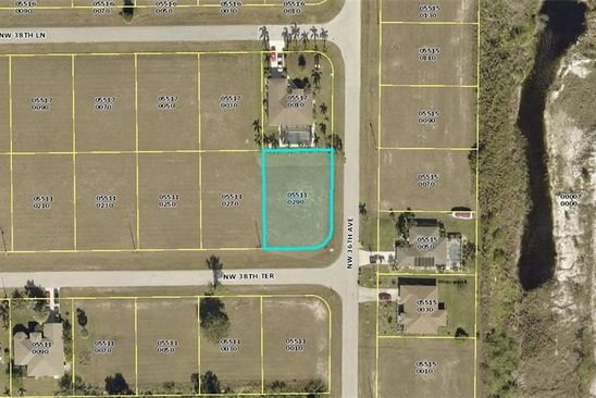 null bed null bath Vacant Land at 3601 NW 38TH TER CAPE CORAL, FL, 33993 is for sale at 10k - google static map