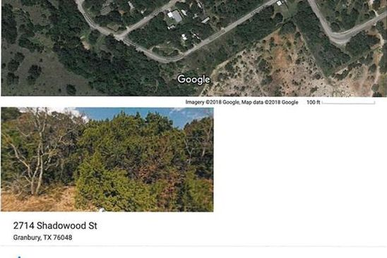 null bed null bath Vacant Land at 2714 S Shadowood St Granbury, TX, 76048 is for sale at 2k - google static map