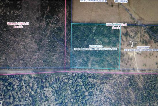 0 bed null bath Vacant Land at  Tbd Ward Line Rd Starks, LA, 70661 is for sale at 45k - google static map
