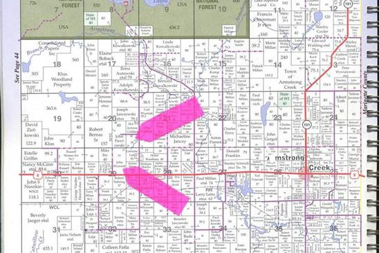 null bed null bath Vacant Land at  Tbd Us8 Armstrong Creek, WI, 54103 is for sale at 150k - google static map