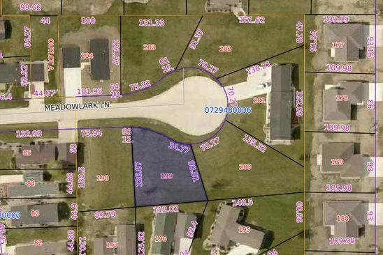 null bed null bath Vacant Land at 613 Meadow Lark Ln Arnolds Park, IA, 51331 is for sale at 45k - google static map