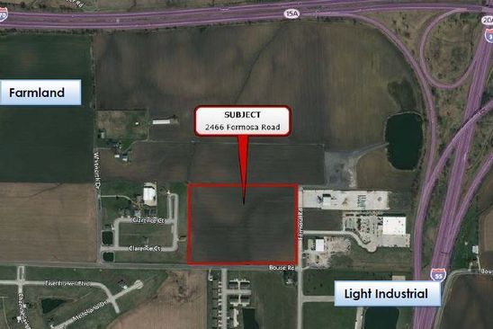 null bed null bath Vacant Land at 2466 Formosa Rd Troy, IL, 62294 is for sale at 630k - google static map
