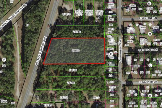 null bed null bath Vacant Land at 9121 S FLORIDA AVE FLORAL CITY, FL, 34436 is for sale at 19k - google static map