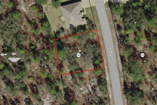 null bed null bath Vacant Land at 38 VINCA ST HOMOSASSA, FL, 34446 is for sale at 9k - google static map