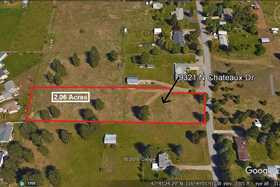 null bed null bath Vacant Land at 9321 N Chateaux Dr Hayden, ID, 83835 is for sale at 179k - google static map