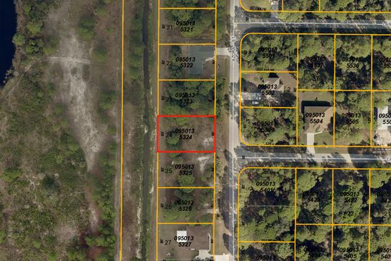 null bed null bath Vacant Land at  AZORA ST NORTH PORT, FL, 34291 is for sale at 18k - google static map