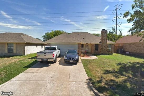 3 bed 2 bath Single Family at 802 Xavier Dr Arlington, TX, 76001 is for sale at 168k - google static map