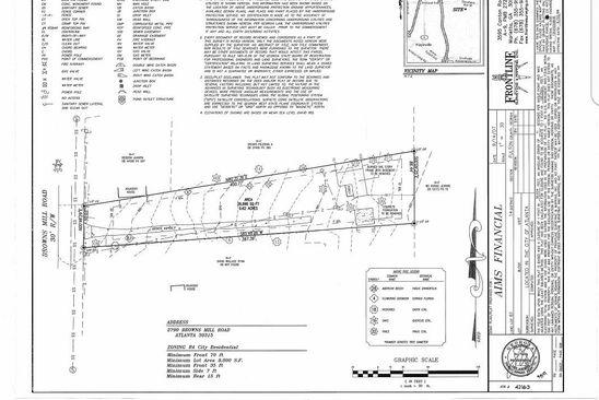 3 bed null bath Vacant Land at 2790 BROWNS MILL RD SE ATLANTA, GA, 30354 is for sale at 12k - google static map
