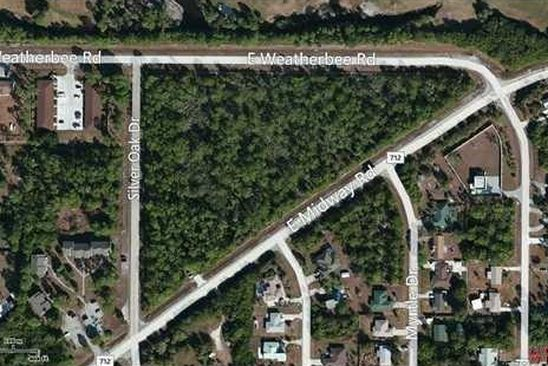 null bed null bath Vacant Land at E Weatherbee & E Miday Rd Fort Pierce, FL, 34982 is for sale at 850k - google static map
