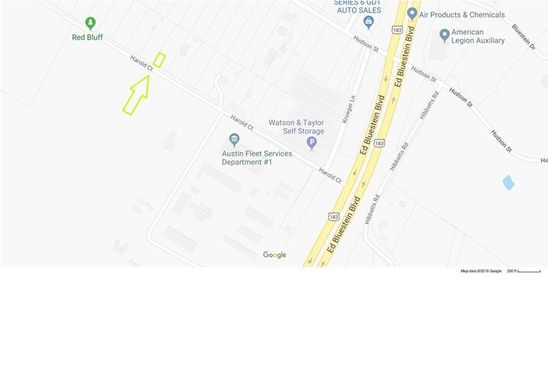 null bed null bath Vacant Land at 00 Harold Ct Austin, TX, 78721 is for sale at 20k - google static map