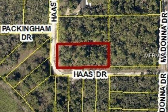 null bed null bath Vacant Land at 34195 Haas Dr Webster, FL, 33597 is for sale at 6k - google static map