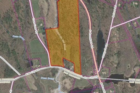 null bed null bath Vacant Land at 8 SLAB CITY RD NORTH BROOKFIELD, MA, 01535 is for sale at 200k - google static map