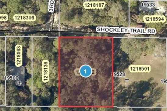 null bed null bath Vacant Land at 19518 SHOCKLEY TRAIL RD ALTOONA, FL, 32702 is for sale at 9k - google static map
