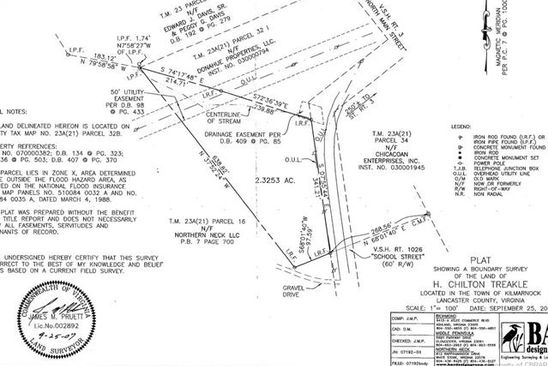 null bed null bath Vacant Land at  Tbd School St Kilmarnock, VA, 22482 is for sale at 96k - google static map