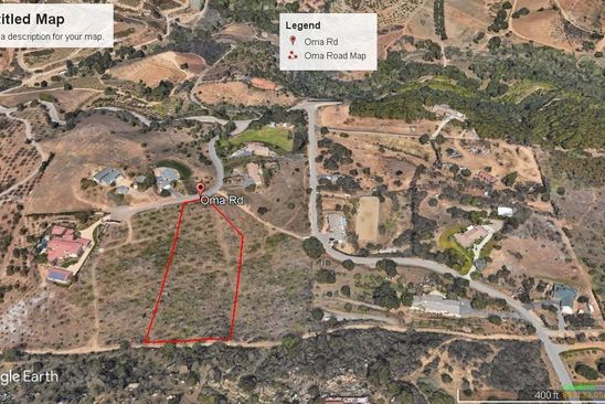 null bed null bath Vacant Land at  Oma Rd Valley Center, CA, 92082 is for sale at 189k - google static map