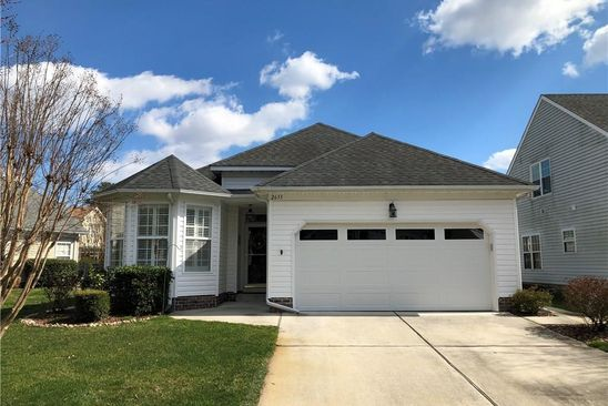 2 bed 2 bath Single Family at 2633 EINSTEIN DR VIRGINIA BEACH, VA, 23456 is for sale at 323k - google static map