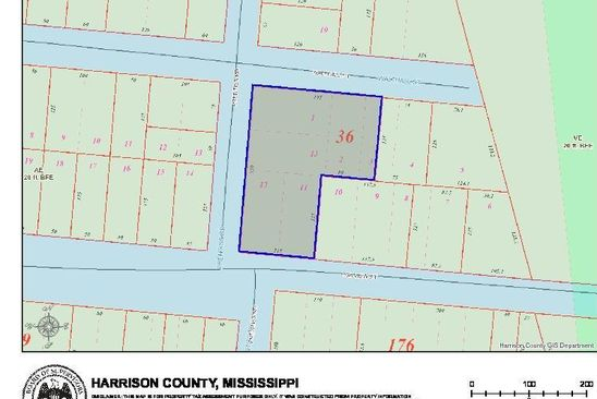 null bed null bath Vacant Land at 500 Bayview St Pass Christian, MS, 39571 is for sale at 35k - google static map