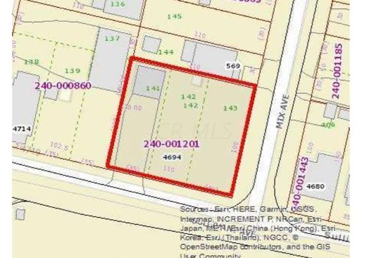 0 bed null bath Vacant Land at 4694 Sullivant Ave Columbus, OH, 43228 is for sale at 100k - google static map
