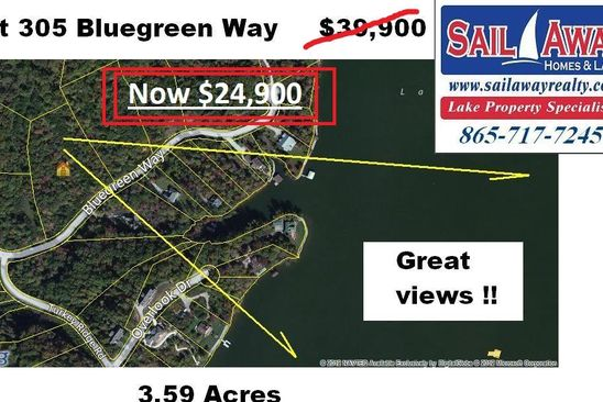 null bed null bath Vacant Land at  Bluegreen Way Rockwood, TN, 37854 is for sale at 25k - google static map