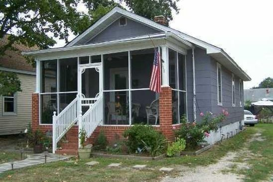 2 bed 1 bath Single Family at 317 CATALPA AVE HAMPTON, VA, 23661 is for sale at 48k - google static map