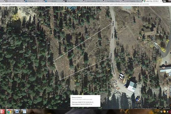 null bed null bath Vacant Land at 1541 Monte Queen Rd Lake City, CO, 81235 is for sale at 50k - google static map