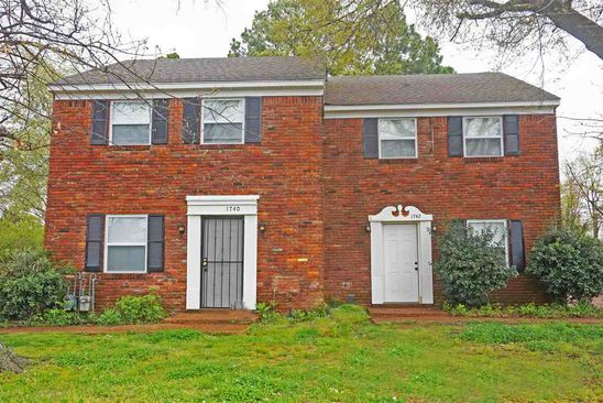 6 bed 3 bath Single Family at 1740 E Holmes Rd Memphis, TN, 38116 is for sale at 116k - google static map